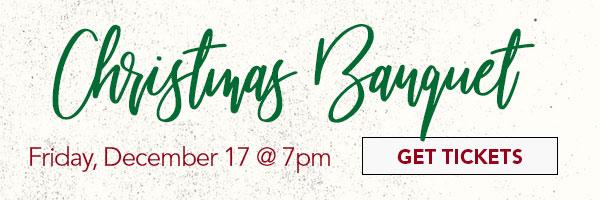 Christmas Banquet @ TBCC